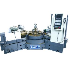 HDF-6ZE無防護數控六工位組合機床 蝶閥專用加工機床