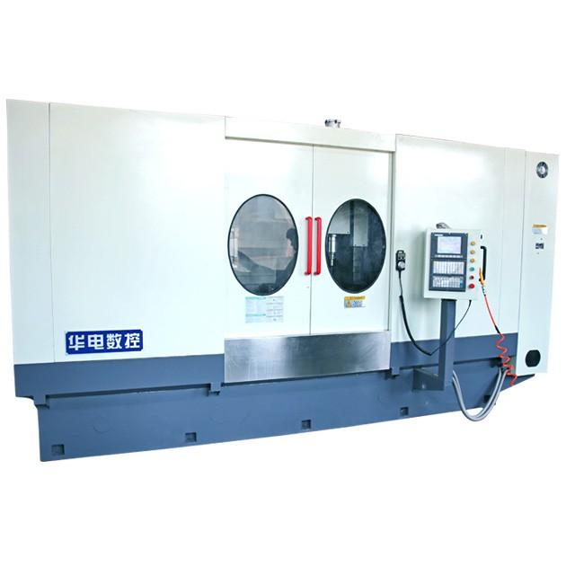制动底板加工机床 四工位专用加工机床 汽车零部件专用加工机床