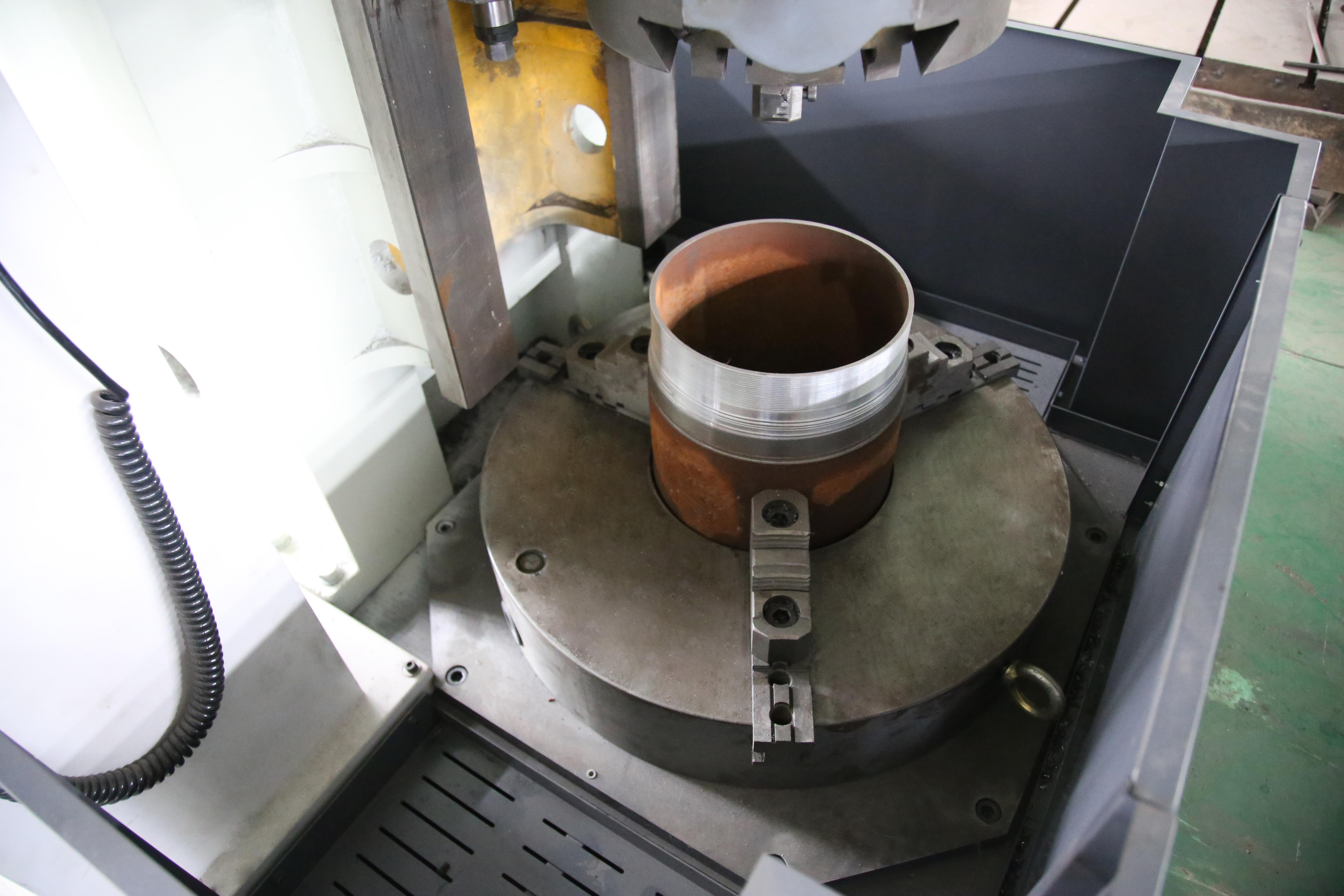 车削立式专用加工机床管件加工机床立式车床单头机床