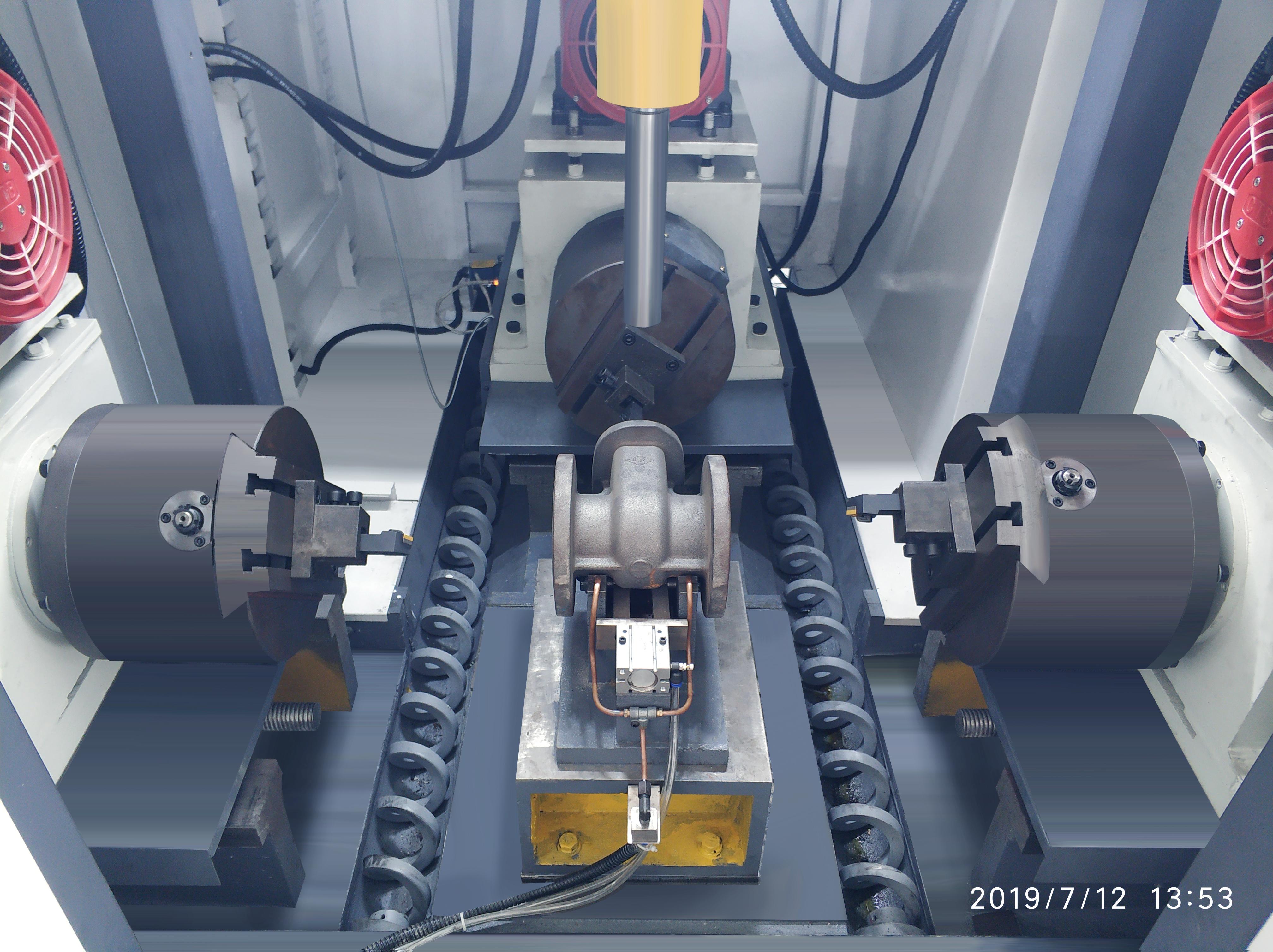 阀门加工 闸阀截止阀加工数控机床 专用机床
