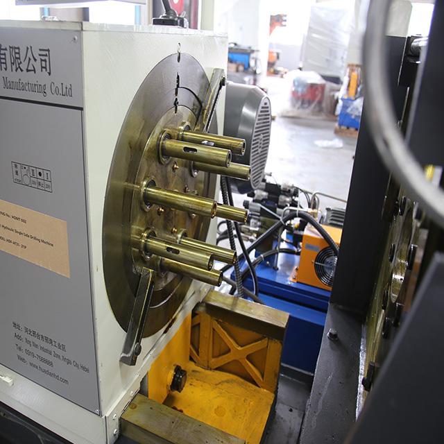 定制小型數控鉆孔機閥門法蘭鉆孔專機液壓多孔鉆床